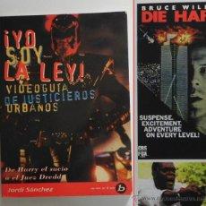 Libros de segunda mano: YO SOY LA LEY VIDEOGUÍA DE JUSTICIEROS URBANOS CINE BRUCE LEE WILLIS EASTWOOD SEAGAL PELÍCULAS LIBRO. Lote 49867010