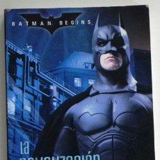 Libros de segunda mano: BATMAN BEGINS (EMPIEZA HOMBRE MURCIÉLAGO ) LA NOVELIZACIÓN PERSONAJE D CÓMIC LIBRO FOTOS DE PELÍCULA. Lote 49977972