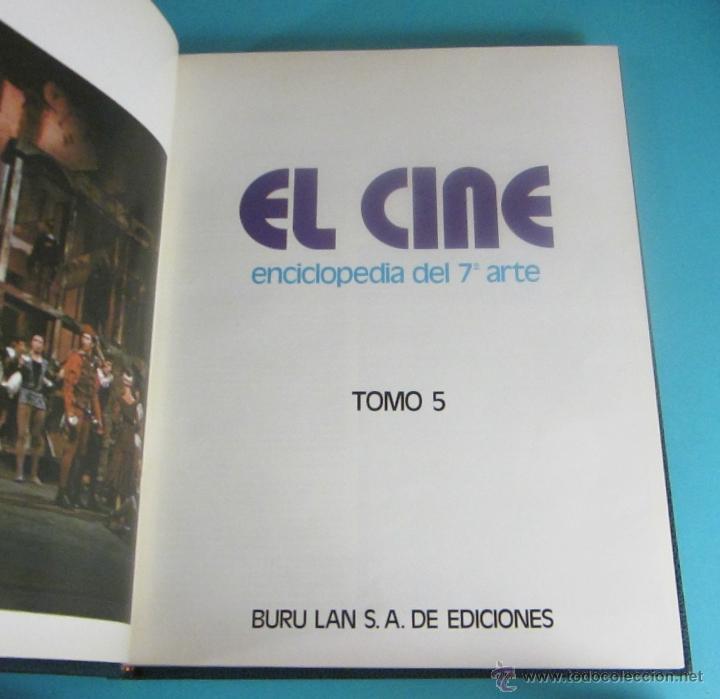 TOMO 5 DE EL CINE, LA ENCICLOPEDIA DEL 7º ARTE. BURU LAN (Libros de Segunda Mano - Bellas artes, ocio y coleccionismo - Cine)