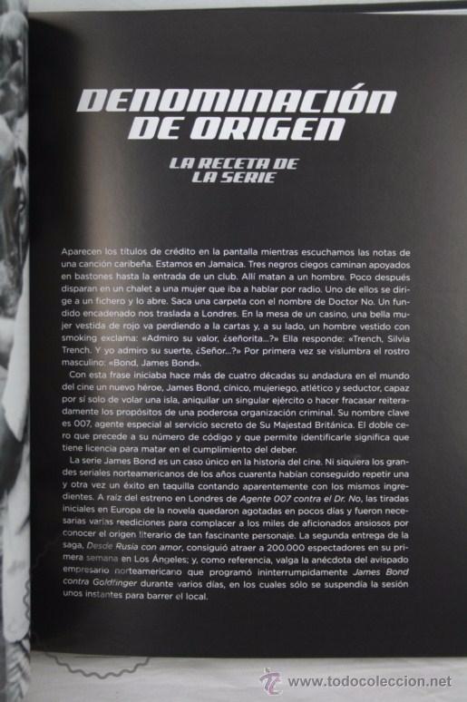 Libros de segunda mano: Libro Su Nombre es Bond, James Bond. La Guía Definitiva de 007 - Ed. T&B Editores, Año 2006 - Foto 4 - 50121455