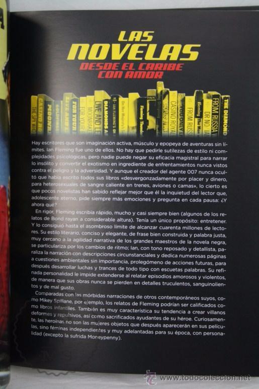 Libros de segunda mano: Libro Su Nombre es Bond, James Bond. La Guía Definitiva de 007 - Ed. T&B Editores, Año 2006 - Foto 5 - 50121455