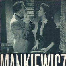 Libros de segunda mano: LIBRO MANKIEWICZ ( EN FRANCÉS ). Lote 50570814