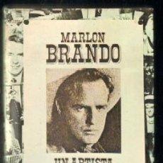 Libros de segunda mano: MARLON BRANDO. UN ARTISTA REBELDE A-CI-526. Lote 50646847