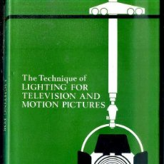 Libros de segunda mano: MILLERSON : LIGHTING FOR TELEVISION AND MOTION PICTURES (FOCAL PRESS, NEW YORK, 1974). Lote 50687560