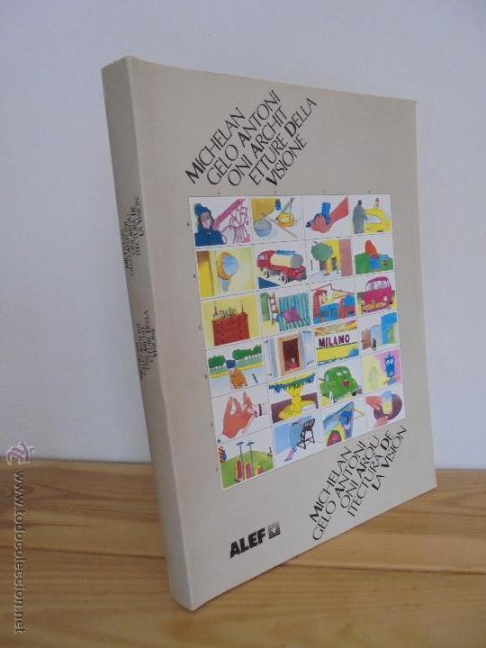 MICHELANGELO ANTONIONI ARCHITETTURE DELLA VISIONE. EDICION ITALIANO-ESPAÑOL. VER FOTOS ADJUNTAS. (Libros de Segunda Mano - Bellas artes, ocio y coleccionismo - Cine)
