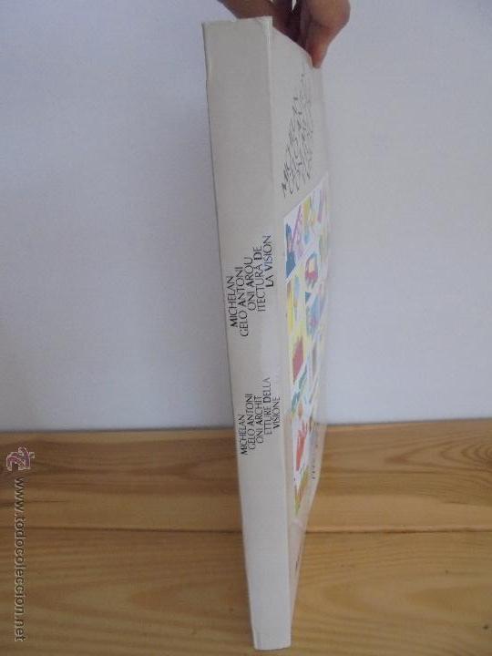 Libros de segunda mano: MICHELANGELO ANTONIONI ARCHITETTURE DELLA VISIONE. EDICION ITALIANO-ESPAÑOL. VER FOTOS ADJUNTAS. - Foto 2 - 50722062
