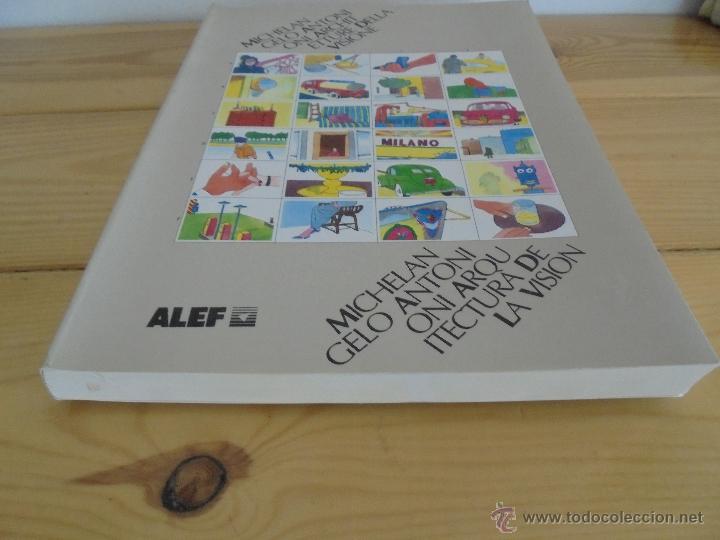 Libros de segunda mano: MICHELANGELO ANTONIONI ARCHITETTURE DELLA VISIONE. EDICION ITALIANO-ESPAÑOL. VER FOTOS ADJUNTAS. - Foto 4 - 50722062