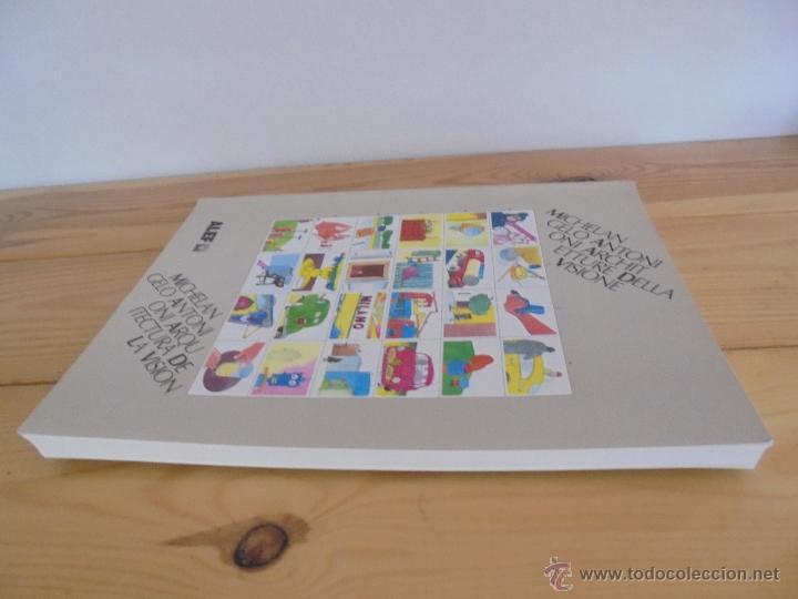 Libros de segunda mano: MICHELANGELO ANTONIONI ARCHITETTURE DELLA VISIONE. EDICION ITALIANO-ESPAÑOL. VER FOTOS ADJUNTAS. - Foto 5 - 50722062