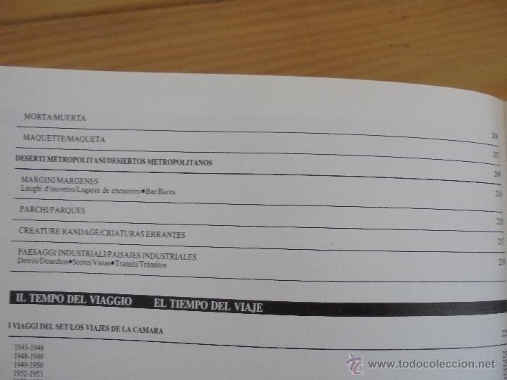Libros de segunda mano: MICHELANGELO ANTONIONI ARCHITETTURE DELLA VISIONE. EDICION ITALIANO-ESPAÑOL. VER FOTOS ADJUNTAS. - Foto 25 - 50722062