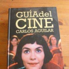 Libros de segunda mano: GUIA DEL CINE. CARLOS AGUILAR. ED. CATEDRA 2011 1950PAG. Lote 50737087