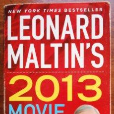 Libros de segunda mano: LEONARD MALTIN'S 2013 MOVIE GUIDE. Lote 50763493