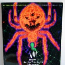 Libros de segunda mano: VIII SEMANA DE CINE FANTASTICO Y DE TERROR 1997 LIBRO GUIA DEL FESTIVAL AÑO 1997 8 OCTAVA. Lote 50904061
