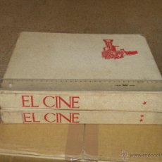 Libros de segunda mano: EL CINE, DESDE LUMIERE HASTA EL CINERAMA EDITORIAL ARGOS 2 TOMOS (TAPA DURA 1965) . Lote 50975398