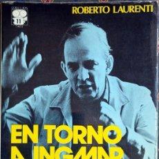 Libros de segunda mano: EN TORNO A INGMAR BERGMAN. BIOGRAFÍA. CINE. ROBERTO LAURENTI.. Lote 51392064