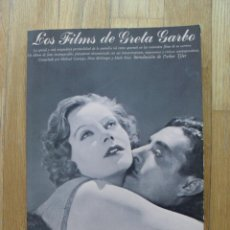 Libros de segunda mano: LOS FILMS DE GRETA GARBO, 1 EDICION 1979. Lote 51630284