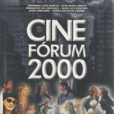 Libros de segunda mano: VV.AA. CINE FÓRUM 2000. CRÍTICAS Y FICHAS DE TODOS LOS ESTRENOS CINEMATOGRÁFICOS DE 1999. RM71260.. Lote 51704565