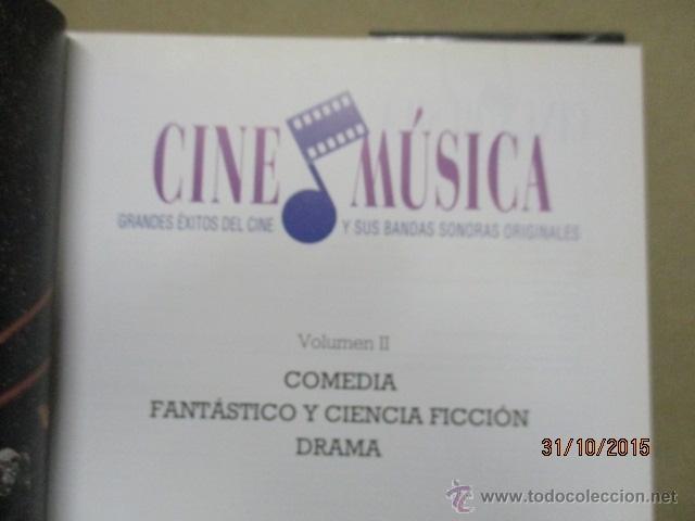 Libros de segunda mano: CINE & MUSICA -SALVAT VOL. II - como NUEVO (ver fotos) - Foto 4 - 52457875