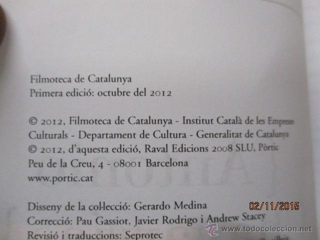 Libros de segunda mano: Antonio Chavarrías - El Cineasta De LOmbra (Cineastes) (Catalán) Tapa blanda – 1ª Edició 2012 - Foto 2 - 52522732