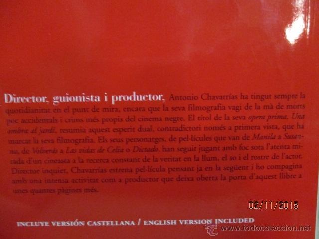 Libros de segunda mano: Antonio Chavarrías - El Cineasta De LOmbra (Cineastes) (Catalán) Tapa blanda – 1ª Edició 2012 - Foto 6 - 52522732