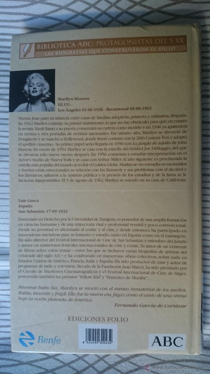 Libros de segunda mano: BIOGRAFIA MARILYN MONROE - Foto 3 - 52831519