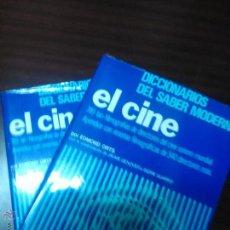 Libros de segunda mano: EL CINE. DICCIONARIO MUNDIAL DEL CINE SONORO, ORTS, EDMOND, VOLÚMENES 1 Y 2. - SF CINE BS 7. Lote 52863677
