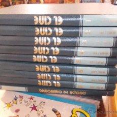 Libros de segunda mano: ENCICLOPEDIA DEL CINE - 7º ARTE COMPLETA - 8 TOMOS + DICCIONARIO DE ACTORES - BURU LAN - BURULAN. Lote 52898105