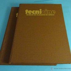 Libros de segunda mano: TECNICINE. TÉCNICAS DE FILMACIÓN EN SUPER 8. LOS 3 TOMOS DE LA COLECCIÓN ENCUADERNADOS EN 2 TOMOS. Lote 53452465