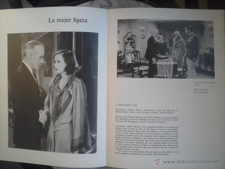 Libros de segunda mano: LOS FILMS DE GRETA GARBO. - Foto 2 - 53523482