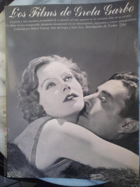 LOS FILMS DE GRETA GARBO. (Libros de Segunda Mano - Bellas artes, ocio y coleccionismo - Cine)