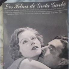 Libros de segunda mano: LOS FILMS DE GRETA GARBO.. Lote 53523482