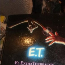 Libros de segunda mano: LIBRO E.T. EL EXTRATERRESTRE (1.982). PELÍCULA DE STEVEN SPIELBERG.DA. Lote 53829750