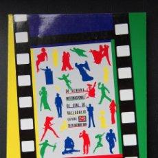 Libros de segunda mano: 34 SEMANA INTERNACIONAL DE CINE VALLADOLID - 1989 - CATALOGO OFICIAL. Lote 53957725