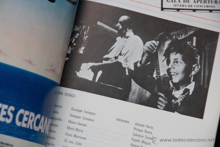 Libros de segunda mano: 34 SEMANA INTERNACIONAL DE CINE VALLADOLID - 1989 - CATALOGO OFICIAL - Foto 6 - 53957725