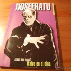 Libros de segunda mano: REVISTA NOSFERATU Nº 27. MALOS EN EL CINE. Lote 53976953