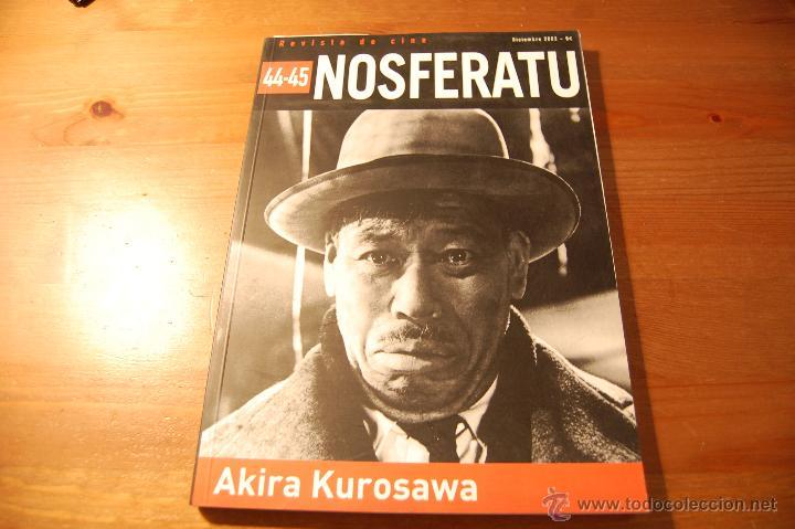 REVISTA NOSFERATU Nº 44-45. AKIRA KUROSAWA (Libros de Segunda Mano - Bellas artes, ocio y coleccionismo - Cine)