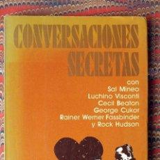 Libros de segunda mano: CONVERSACIONES SECRETAS. BOZE QUENTIN. . Lote 54480066