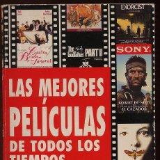 Libros de segunda mano: LAS MEJORES PELICULAS DE TODOS LOS TIEMPOS -432 PAG -----(REF M1 E1). Lote 54716427