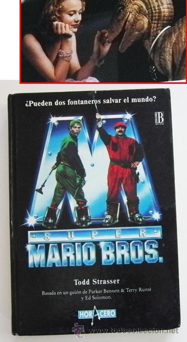 SUPER MARIO BROS - LIBRO NOVELA TODD STRASSER - BASADA EN GUIÓN DE PELÍCULA - PERSONAJE D VIDEOJUEGO (Libros de Segunda Mano - Bellas artes, ocio y coleccionismo - Cine)