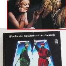 Libros de segunda mano: SUPER MARIO BROS - LIBRO NOVELA TODD STRASSER - BASADA EN GUIÓN DE PELÍCULA - PERSONAJE D VIDEOJUEGO. Lote 54834352