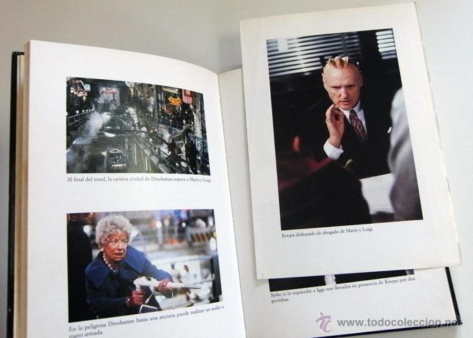 Libros de segunda mano: SUPER MARIO BROS - LIBRO NOVELA TODD STRASSER - BASADA EN GUIÓN DE PELÍCULA - PERSONAJE D VIDEOJUEGO - Foto 5 - 54834352