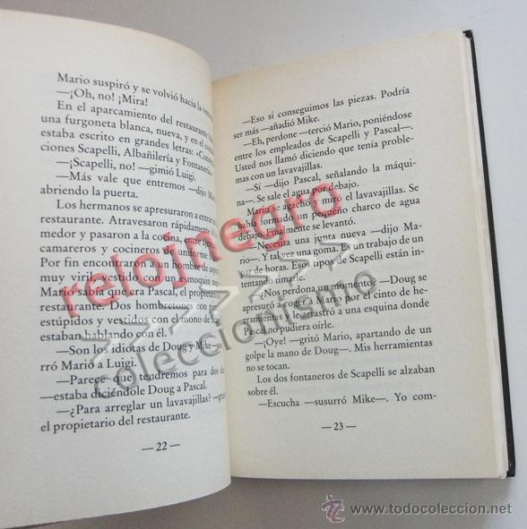 Libros de segunda mano: SUPER MARIO BROS - LIBRO NOVELA TODD STRASSER - BASADA EN GUIÓN DE PELÍCULA - PERSONAJE D VIDEOJUEGO - Foto 6 - 54834352