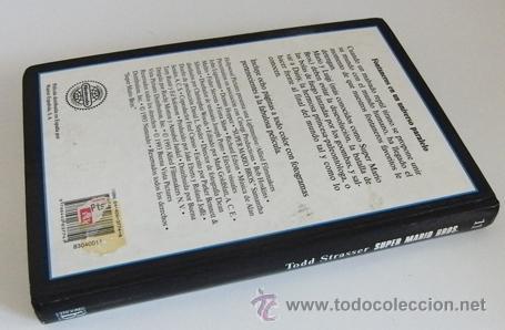 Libros de segunda mano: SUPER MARIO BROS - LIBRO NOVELA TODD STRASSER - BASADA EN GUIÓN DE PELÍCULA - PERSONAJE D VIDEOJUEGO - Foto 7 - 54834352
