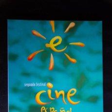 Libros de segunda mano: SEGUNDO FESTIVAL DE CINE ESPAÑOL DE MALAGA 1999 - LIBRO CATALOGO OFICIAL. Lote 55317984