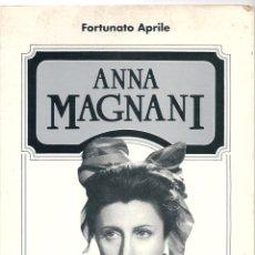 Libros de segunda mano: ANNA MAGNANI ( EN ITALIANO ). PEDIDO MÍNIMO EN LIBROS: 4 TÍTULOS. Lote 55785408