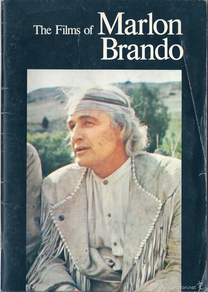 THE FILMS OF MARLON BRANDO ( EN INGLÉS ) (Libros de Segunda Mano - Bellas artes, ocio y coleccionismo - Cine)