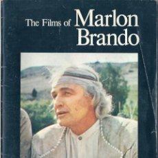 Libros de segunda mano: THE FILMS OF MARLON BRANDO ( EN INGLÉS ). Lote 55785462
