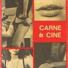 Libros de segunda mano: CARNE DE CINE PANCHO BAUTISTA . Lote 55805329