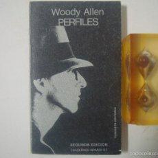 Libros de segunda mano - WOODY ALLEN. PERFILES. 1981. CUADERNOS ÍNFIMOS 93 - 56157437