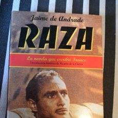 Libros de segunda mano: RAZA DE JAIME DE ANDRADE (SEUDÓNIMO DE FRANCO).EL GUIÓN DE LA PELÍCULA.. Lote 56179207