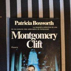 Libros de segunda mano: BIOGRAFÍA DE MONTGOMERY CLIFT EDITADA POR PLANETA. . Lote 56179310